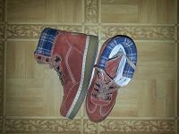 Отдается в дар Ботинки 41 размер рыжие TAMARIS тяжелые