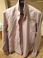 Отдается в дар Рубашка мужская Mixers slim fit (L)