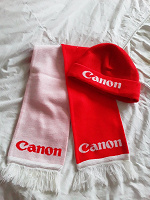 Отдается в дар Комплект шарф+ шапка