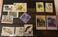 Отдается в дар Набор марок «флора и фауна»