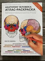Отдается в дар Анатомический атлас-раскраска