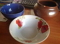 Отдается в дар Посуда со сколом