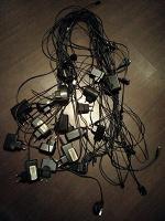 Отдается в дар зарядки для телефонов