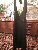 Отдается в дар Платье черное р.40-42