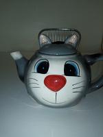 Отдается в дар Заварочный чайник Кошка
