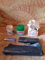 Отдается в дар Мусорные мешки, зубочистки и спички