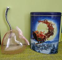 Отдается в дар Баночка от чая и украшения