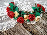 Отдается в дар Браслет с розами