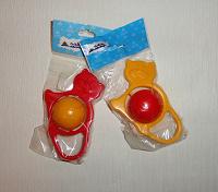 Отдается в дар Пластиковые погремушки