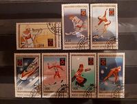 Отдается в дар Спорт. Олимпиада Сараево 1984. Марки Монголии.