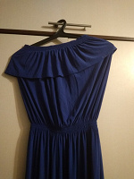 Отдается в дар Синее красивое платье
