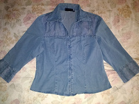 Отдается в дар Блуза — рубашка