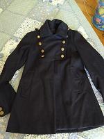 Отдается в дар Короткое пальто-френч размер 42