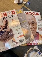 Отдается в дар Журналы LA yoga