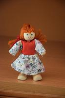 Отдается в дар Деревянная куколка