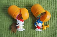 Отдается в дар Киндер-сюрпризы Hello Kitty