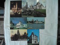 Отдается в дар карманные календарики 1991г. Золотое кольцо России