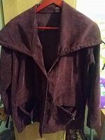 Отдается в дар Вельветовый пиджак, 52-54