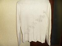 Отдается в дар свитера белый и красный р.44-46