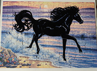 Отдается в дар Пазлы лошадки