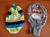 Отдается в дар Шапка-шлем малышу
