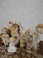 Отдается в дар Статуэтки ангелочки