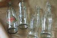 Отдается в дар Винтаж бутылочки из под Coca-Cola
