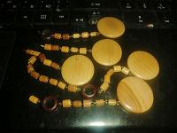Отдается в дар Деревянные бусины на ХМ