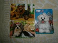 Отдается в дар Календарики Собаки