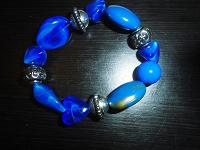 Отдается в дар Синий браслет