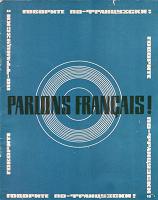 Отдается в дар Пособие «Говорите по французски» + 3 виниловых пластинки