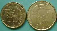 Отдается в дар Евроценты Кипра и Эстонии