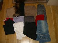 Отдается в дар пакет одежек 7-8 лет