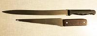 Отдается в дар Нож и нож-пилка б/у