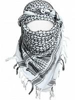 Отдается в дар Шарф Арафатка (чёрно-белый)