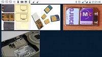 Отдается в дар Адаптер-переходник на 2 сим карты, для телефона, смартфона, планшета