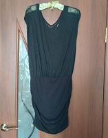 Отдается в дар Чёрное летнее платье 40-42