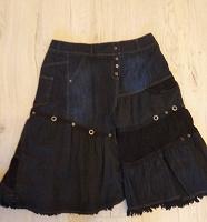 Отдается в дар Джинсовая юбка, размер 52