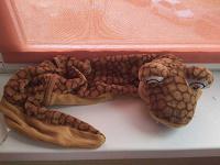 Отдается в дар Змея меховая игрушка.