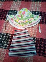 Отдается в дар шапочки детские летние до 2-х лет