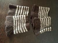 Отдается в дар Утепляшки для ног 2 пары