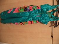 Отдается в дар зимние брюки на лямках на 5-6 лет