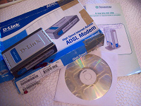 Отдается в дар Adsl модем Dsl-200 с инструкцией и установочным диском