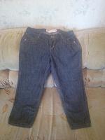 Отдается в дар укороченные джинсы женские