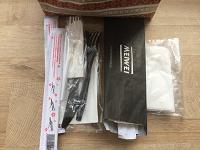 Отдается в дар Одноразовые столовые приборы, палочки для суши, салфетки