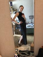 Отдается в дар Чёрное вечернее платье