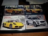 Отдается в дар Карманные календарики «Спорткары-2019».