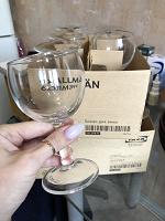 Отдается в дар 12 винных бокалов Икея