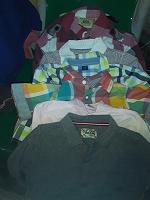 Отдается в дар Рубашечки мальчику 80 — 92