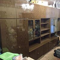 Отдается в дар Стенка мебельная в хорошем состоянии — можно взять отдельные секции
